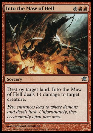 Into the Maw of Hell, Innistrad