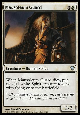 Mausoleum Guard, Innistrad