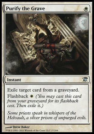 Purify the Grave, Innistrad