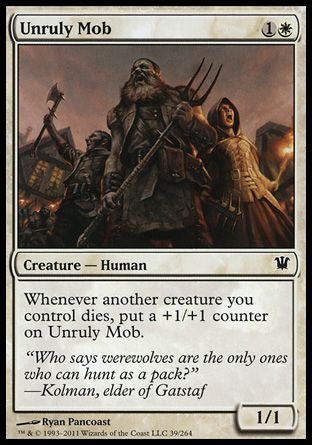 Unruly Mob, Innistrad