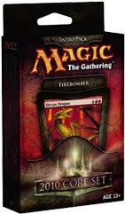Magic2010: Firebomber, Intro Packs