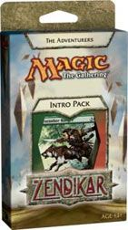 Zendikar: The Adventurers, Intro Packs