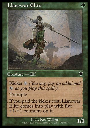 Llanowar Elite, Invasion
