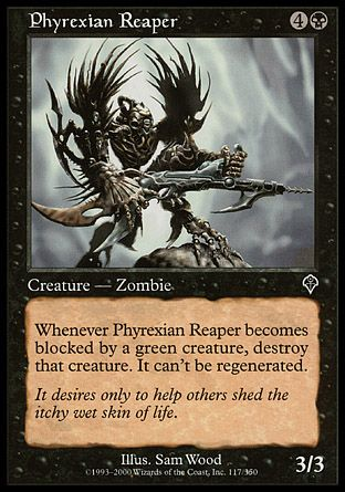 Phyrexian Reaper, Invasion