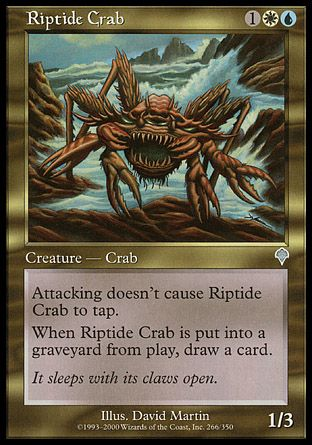 Riptide Crab, Invasion
