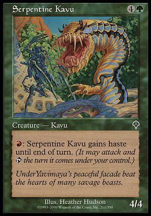 Serpentine Kavu, Invasion