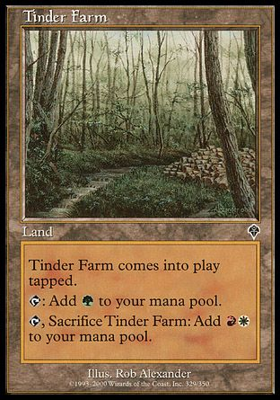 Tinder Farm, Invasion