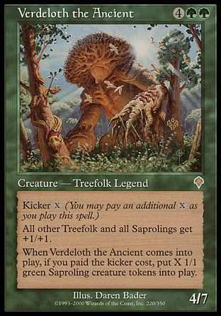 Verdeloth the Ancient, Invasion