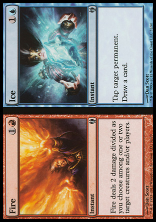 Fire // Ice, Izzet vs Golgari