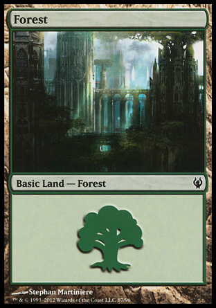 Forest, Izzet vs Golgari