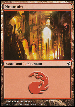 Mountain, Izzet vs Golgari