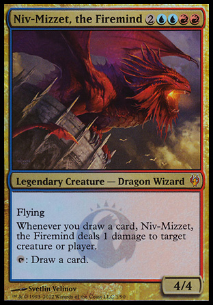 Niv-Mizzet, the Firemind, Izzet vs Golgari