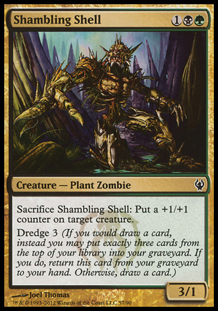 Shambling Shell, Izzet vs Golgari