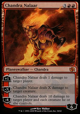 Chandra Nalaar, Jace vs Chandra