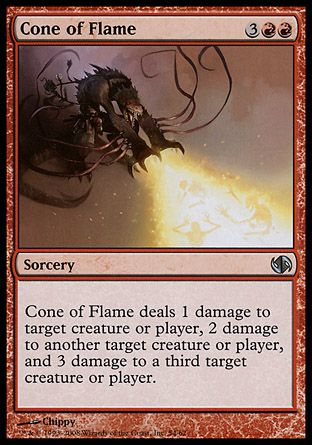 Cone of Flame, Jace vs Chandra