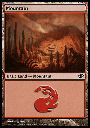 Mountain, Jace vs Chandra