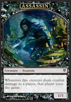 Assassin token, Jace vs Vraska