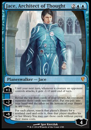 Jace, Architect of Thought, Jace vs Vraska