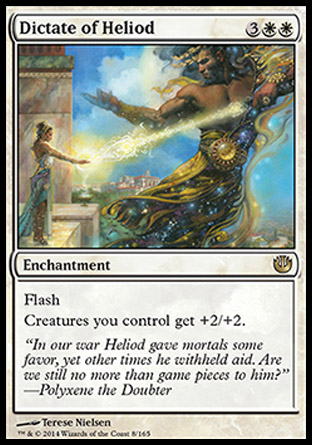 Dictate of Heliod, Journey into Nyx