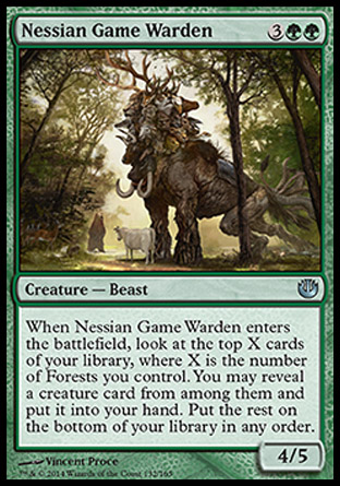 Nessian Game Warden, Journey into Nyx