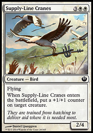 Supply-Line Cranes, Journey into Nyx