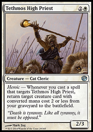 Tethmos High Priest, Journey into Nyx