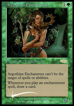 Argothian Enchantress, Judge Gifts