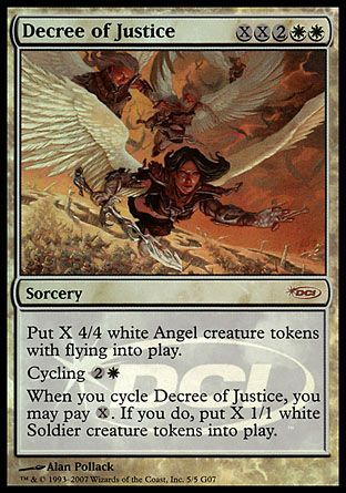 Decree of Justice, Judge Gifts
