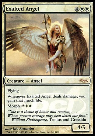 Exalted Angel, Judge Gifts