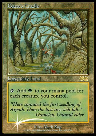 Gaea's Cradle, Judge Gifts