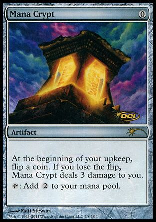 Mana Crypt, Judge Gifts