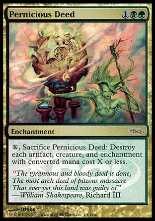 Pernicious Deed, Judge Gifts