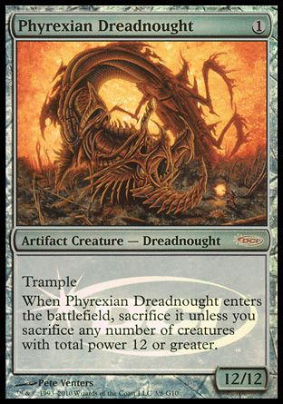Phyrexian Dreadnought, Judge Gifts