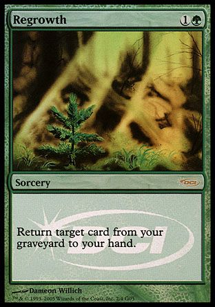 Regrowth, Judge Gifts