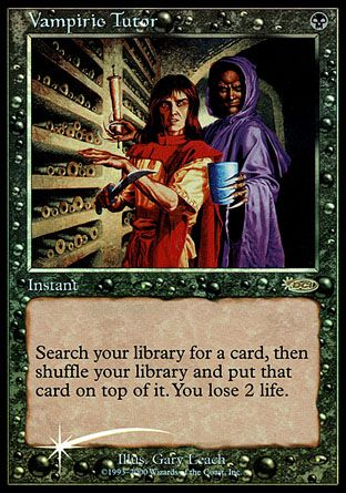 Vampiric Tutor, Judge Gifts