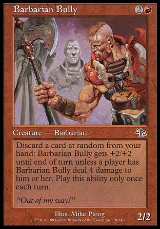 Barbarian Bully, Judgment