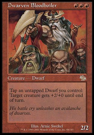 Dwarven Bloodboiler, Judgment