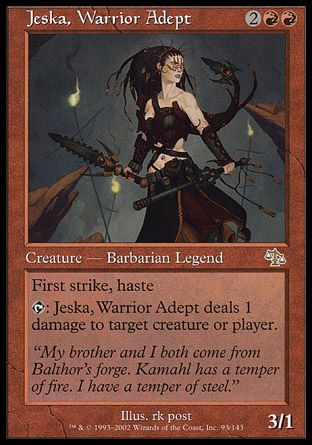 Jeska, Warrior Adept, Judgment