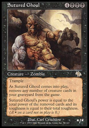 Sutured Ghoul, Judgment