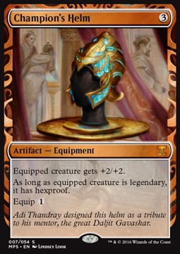 Champion's Helm, Kaladesh Inventions
