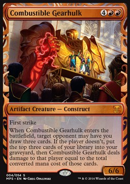 Combustible Gearhulk, Kaladesh Inventions