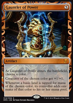 Gauntlet of Power, Kaladesh Inventions
