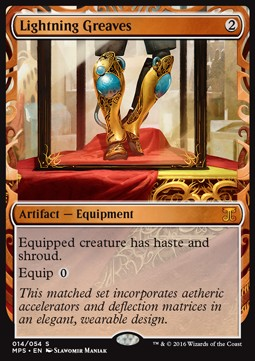 Lightning Greaves, Kaladesh Inventions