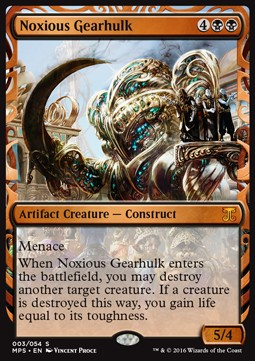 Noxious Gearhulk, Kaladesh Inventions