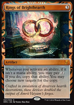 Rings of Brighthearth, Kaladesh Inventions