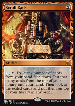Scroll Rack, Kaladesh Inventions