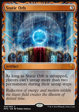 Static Orb, Kaladesh Inventions
