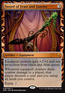 Sword of Feast and Famine, Kaladesh Inventions