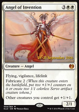 Angel of Invention, Kaladesh Promos