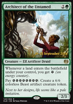 Architect of the Untamed, Kaladesh Promos
